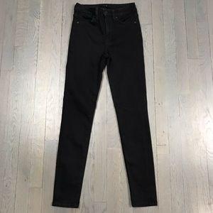 Joe's Jeans Jeans - JOE'S Jeans Black Skinny Leg Ankle Crop Fit Denim